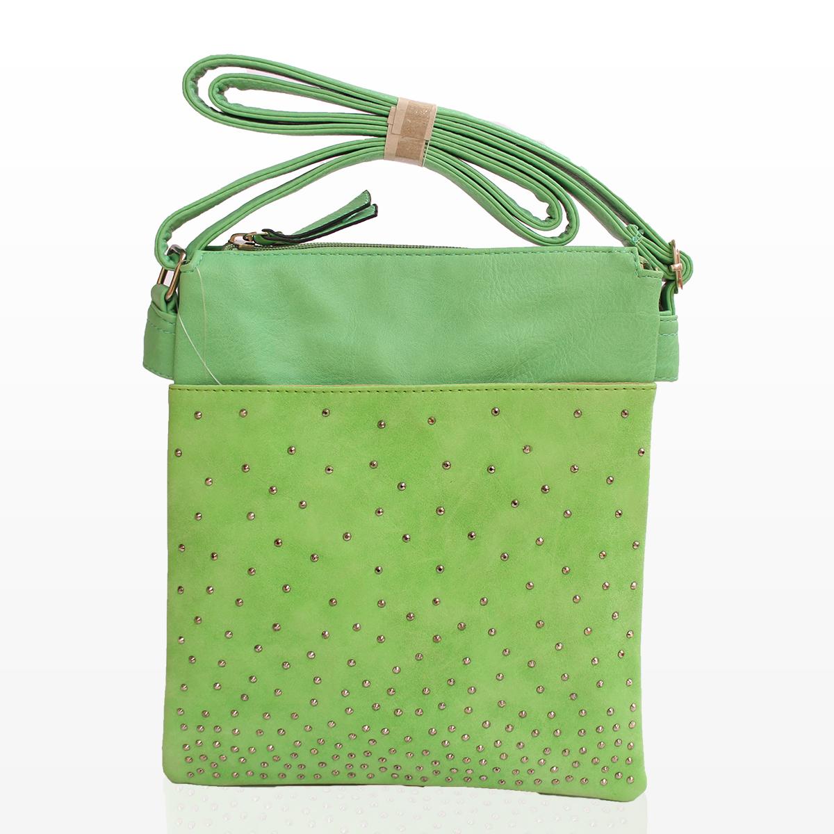 Дамска Чанта През Рамо - Вики Зелена 2