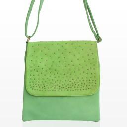 Дамска Чанта През Рамо - Вики Зелена