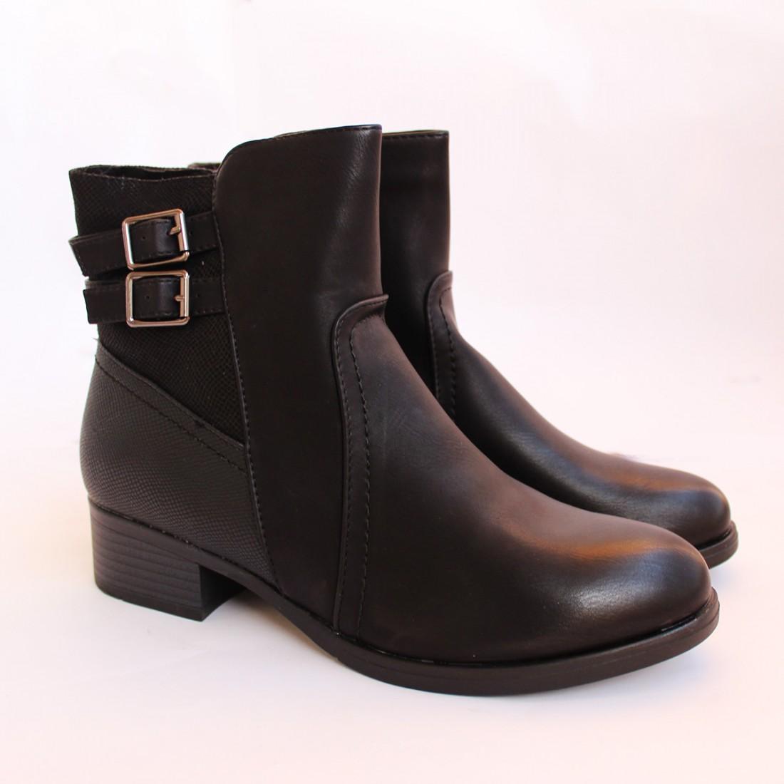 Дамски боти 37938-1 Черни