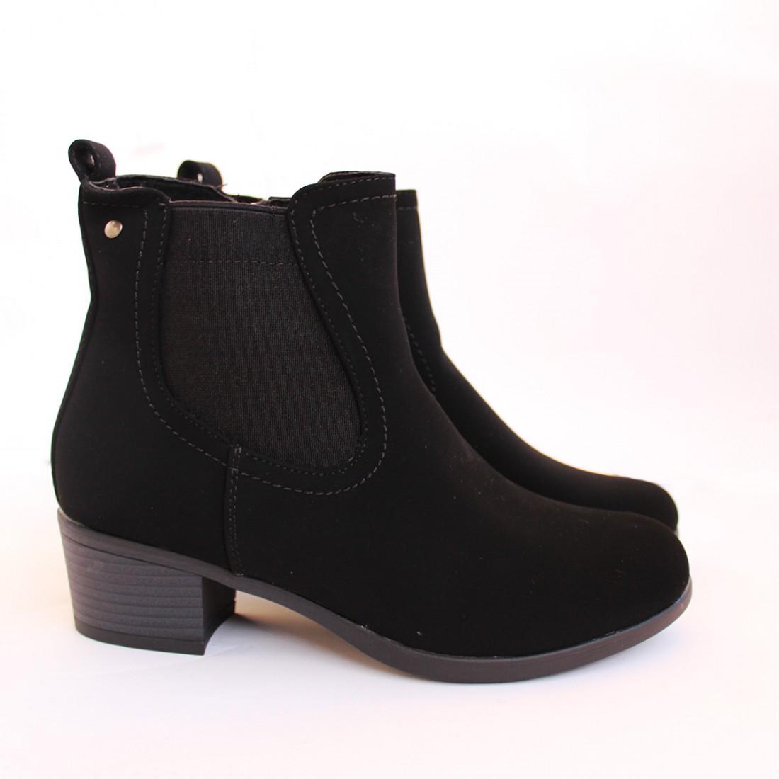 Дамски боти 8676-9 Черни
