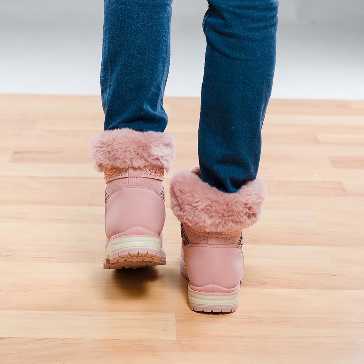 Дамски боти Fashion Розови Снимка 4 от 4