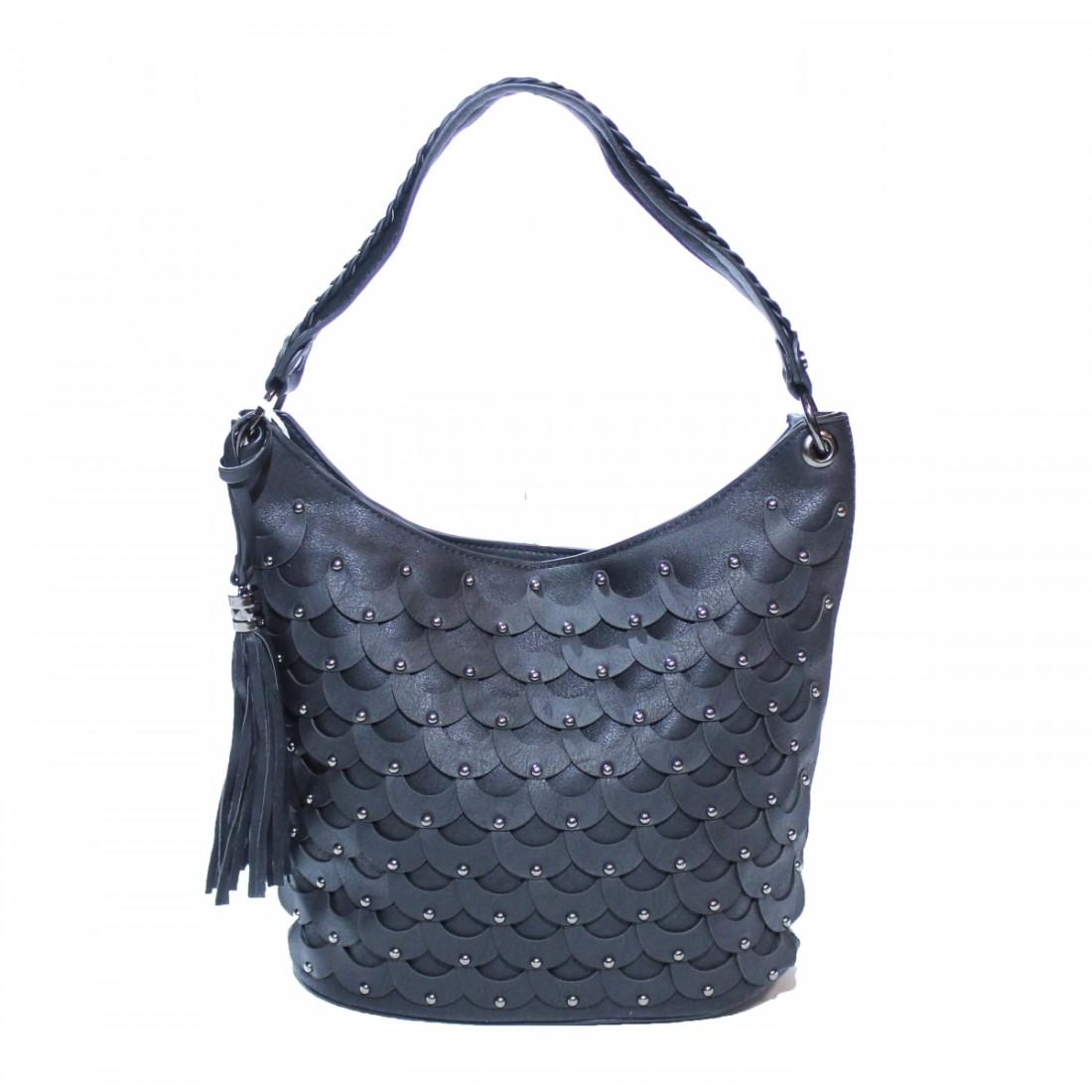 Ежедневна дамска чанта с капси