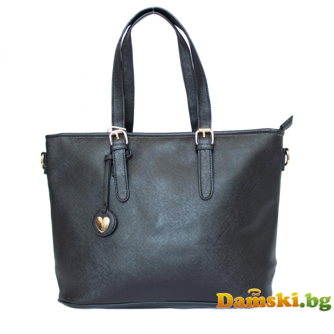 Ежедневни дамски чанти с висулка сърце