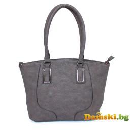 Ежедневна дамска чанта Вили - кафява