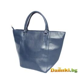 Ежедневна дамска чанта Лили - синя