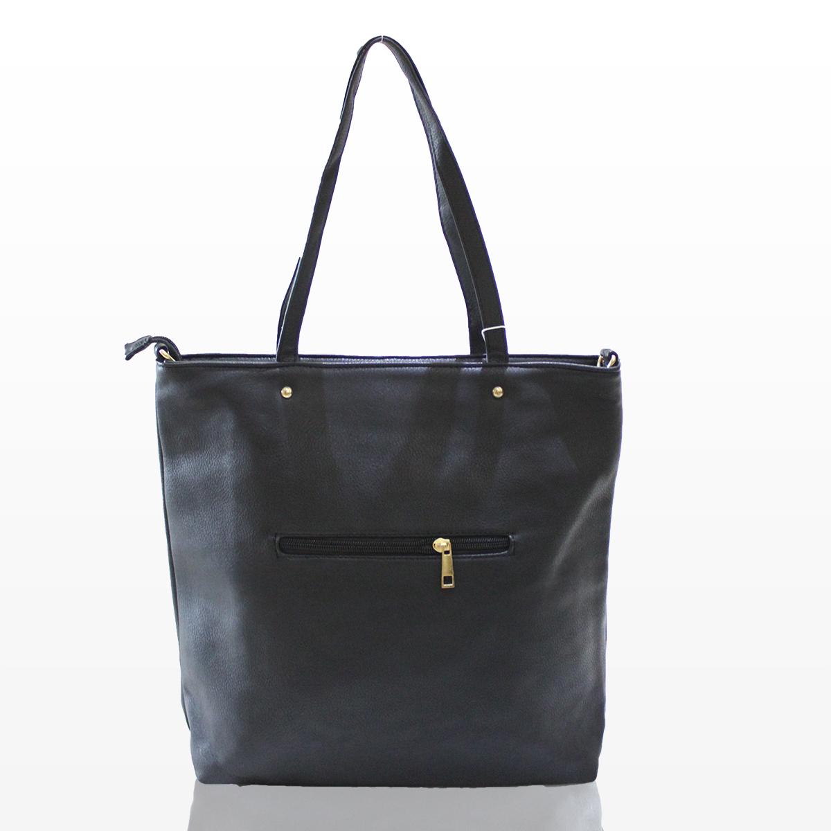 Дамска чанта Роси - черна Снимка 2 от 2