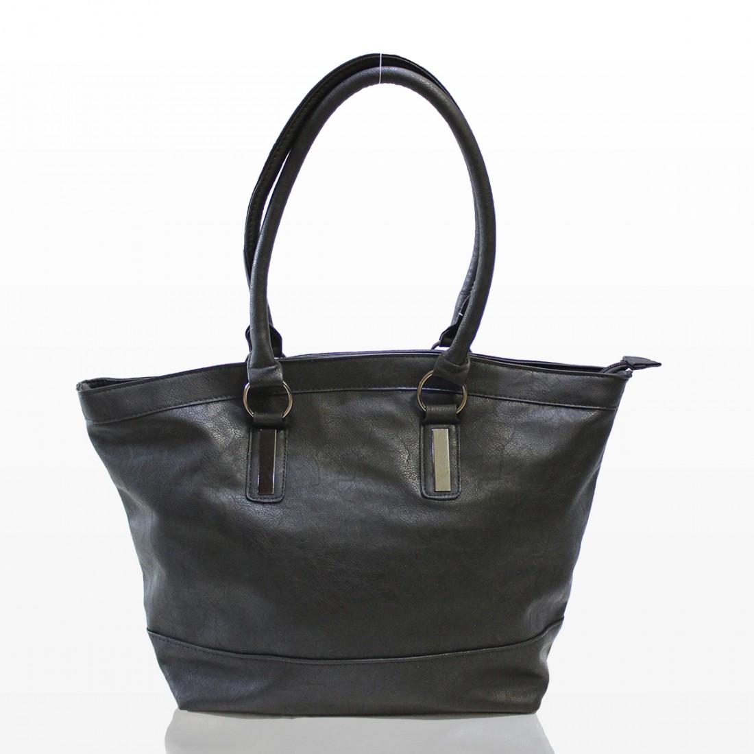 Дамска ежедневна чанта - черна