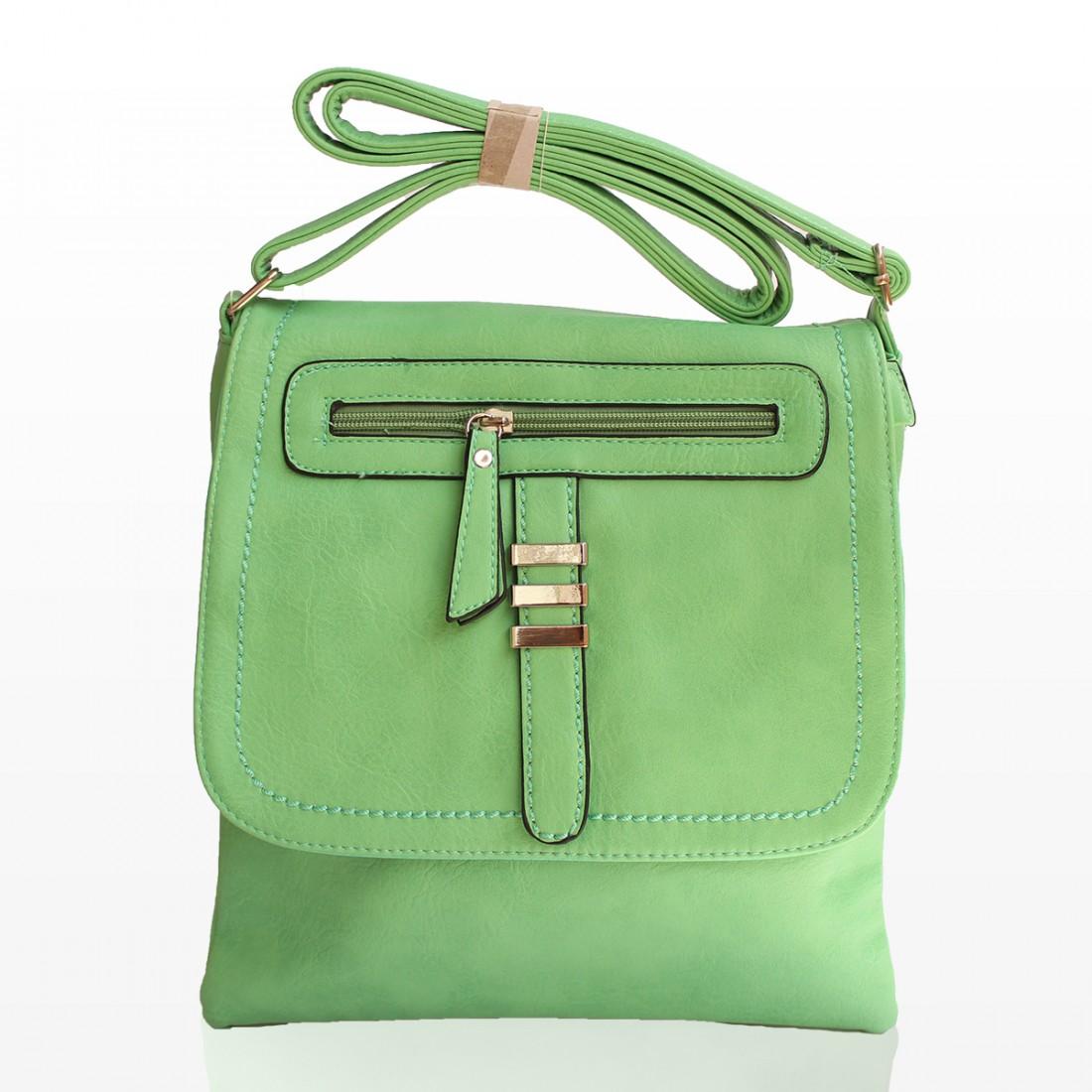 Дамски Чанти През Рамо - Зелена