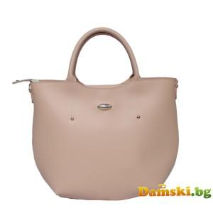 Елегантна розова дамска чанта Ина