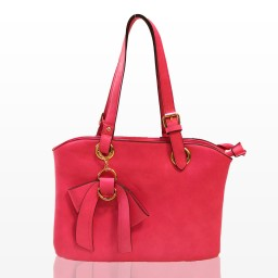 Дамска чанта - цикламена