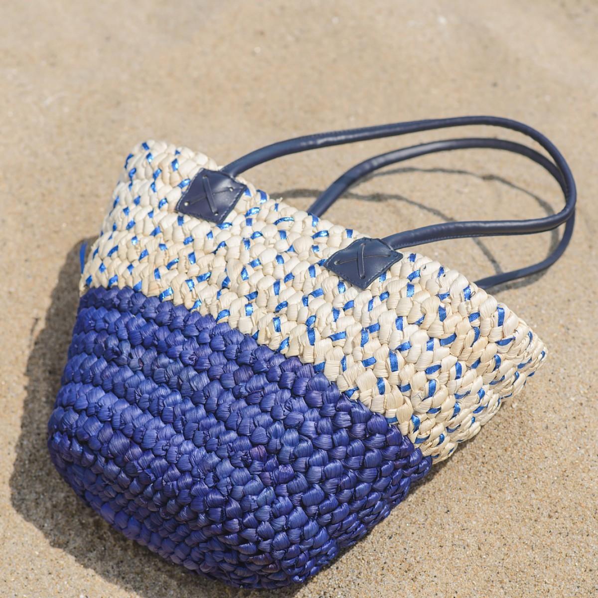Голями плетени плажни чанти