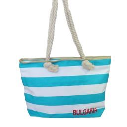 Плажна чанта рае синя