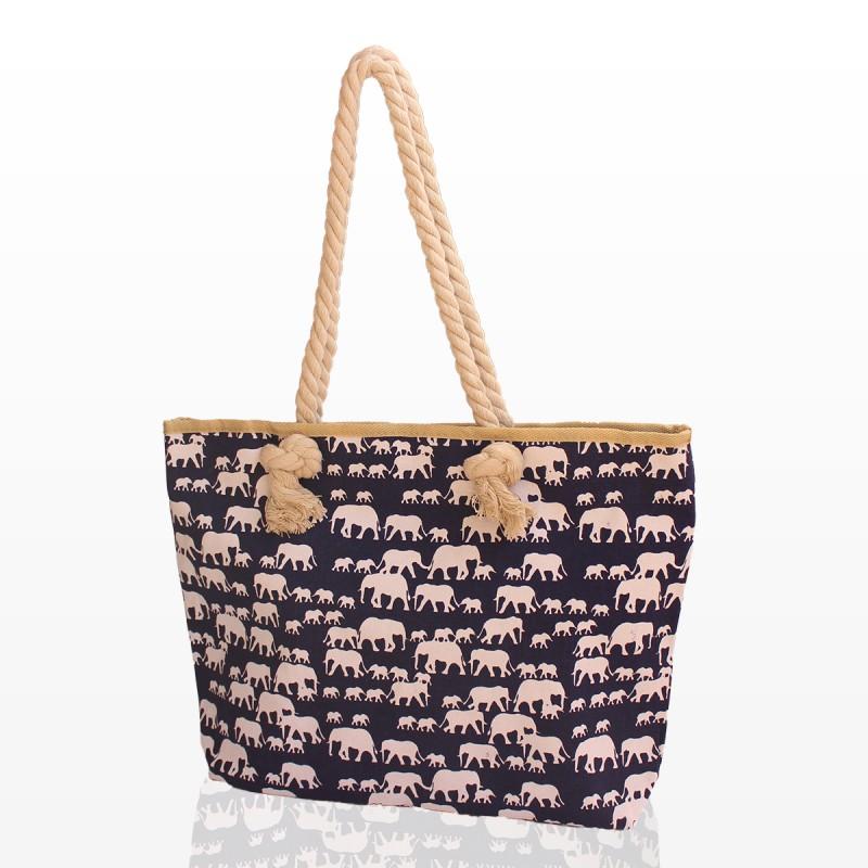 Плажна Чанта Със Слончета
