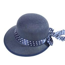 Плажна шапка - тъмно синя