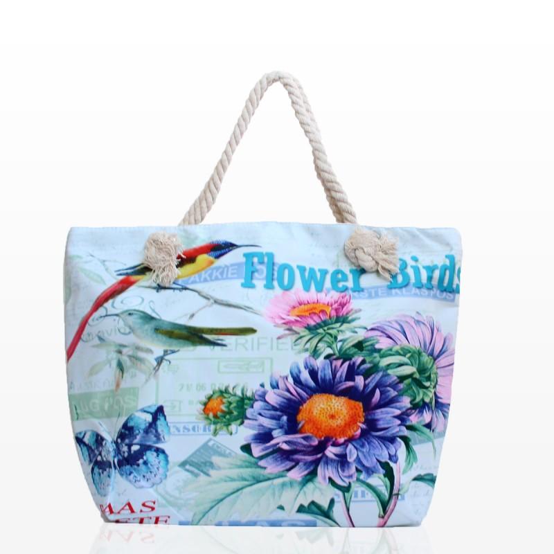 Плажни Чанти Flower Birds