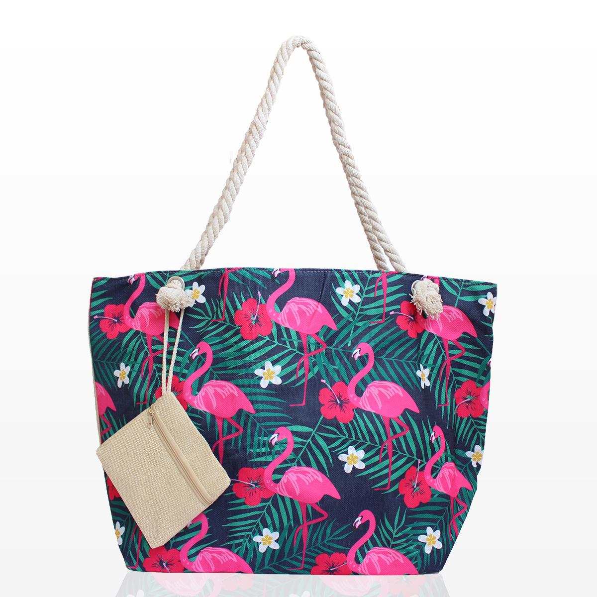 6b935a462e1 Плажни Чанти с Фламинго - 791 - Damski.bg