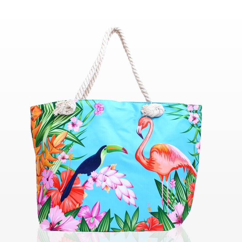 Плажни Чанти с Фламинго - Код 3247