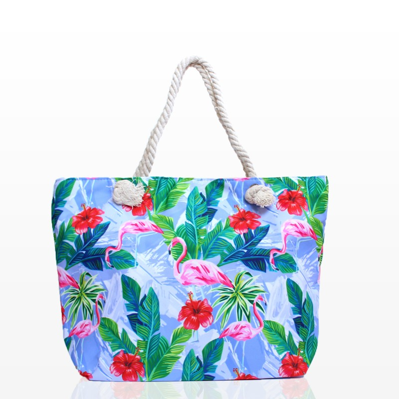 Плажни Чанти с Фламинго - Код 3269