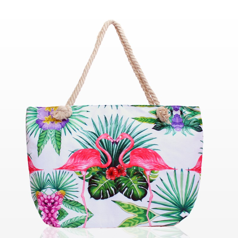 Плажни Чанти с Фламинго - Код 3271
