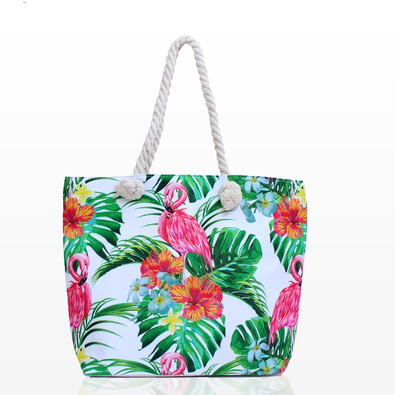 Плажни Чанти с Фламинго - Код 3273