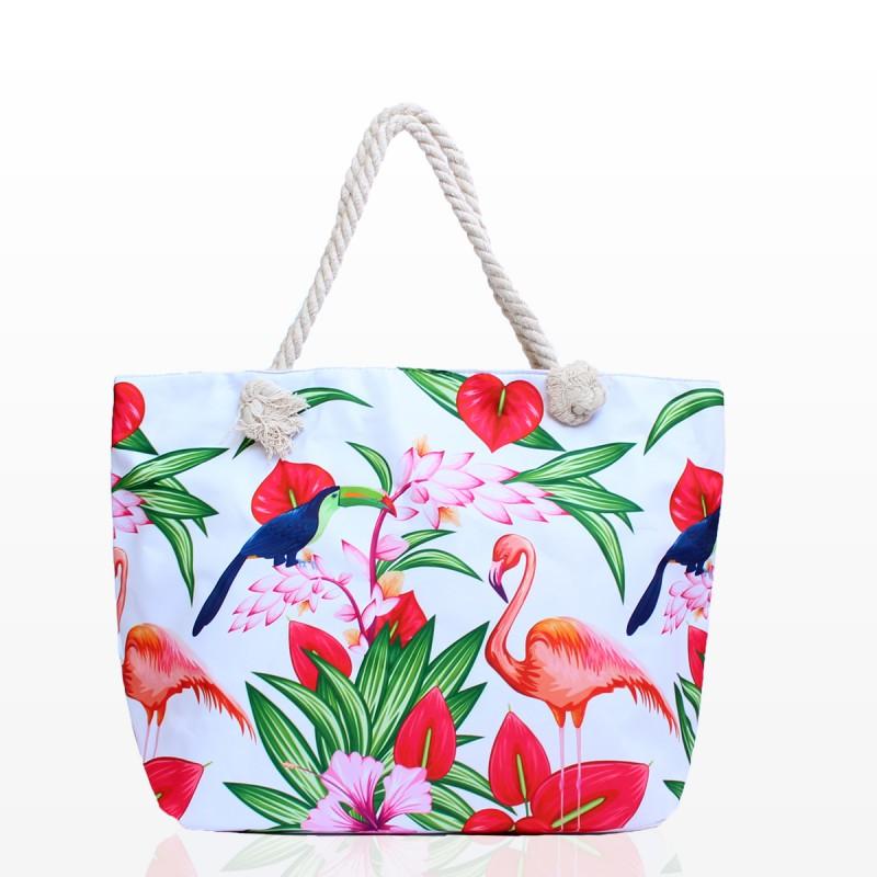 Плажни Чанти с Фламинго - Код 3279