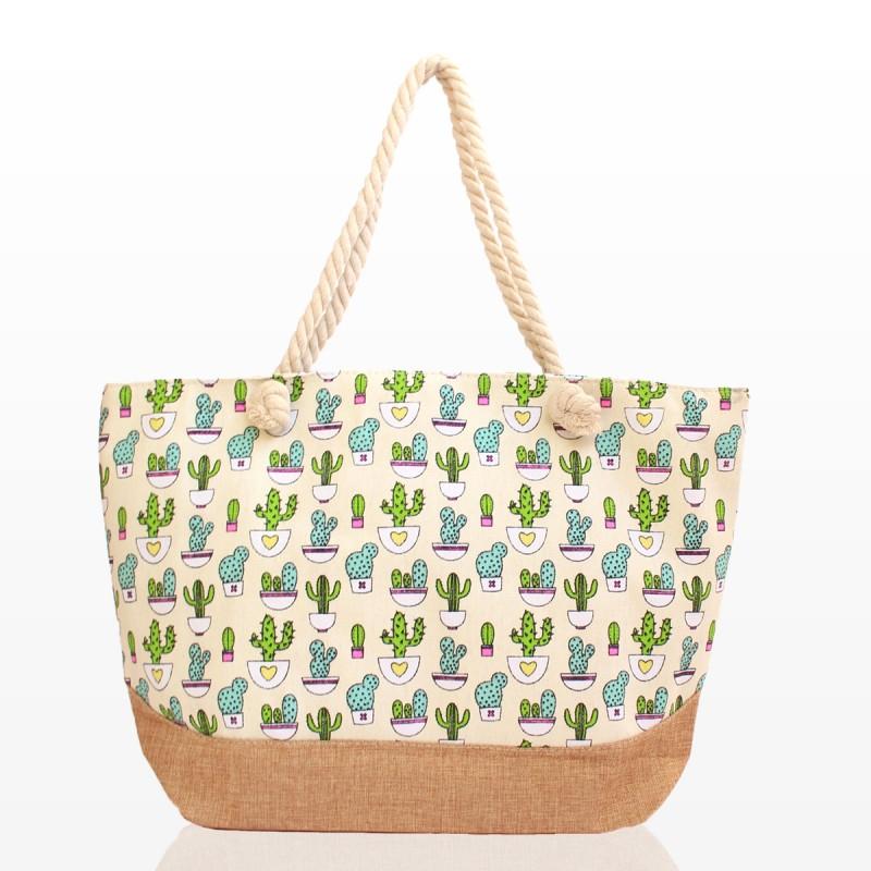Плажни Чанти с Кактуси