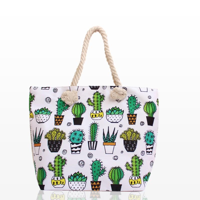 Плажни Чанти с Кактуси - Код 3221