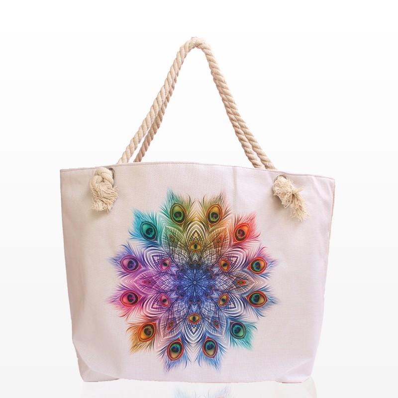 Плажни Чанти с Картинка Пера