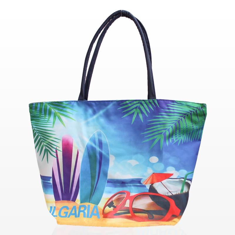 Плажни Чанти с Картинка Сърф