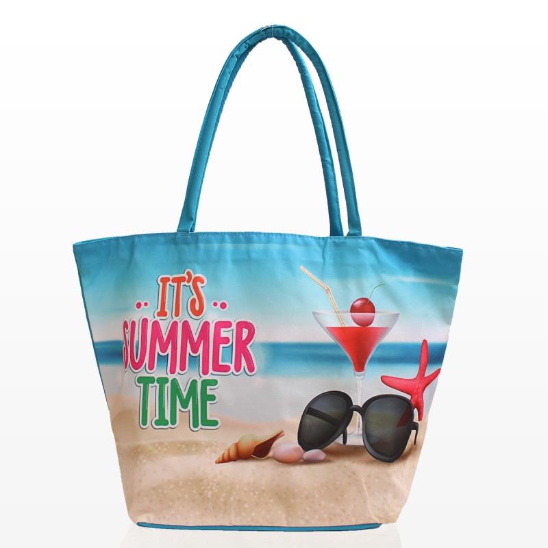 Плажни Чанти с Картинка Summer