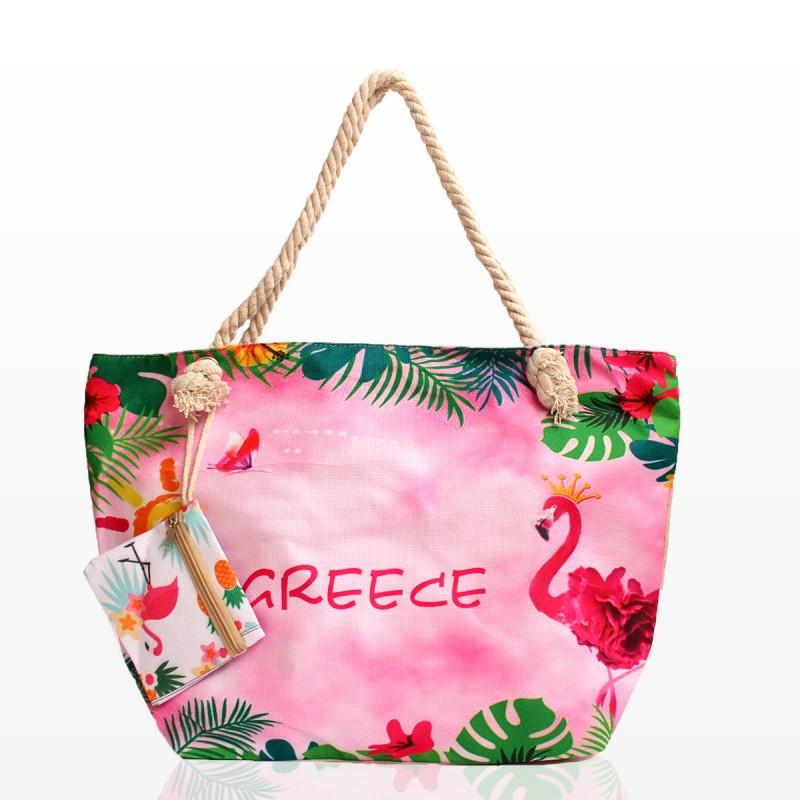 Плажни Чанти с Принт Greece