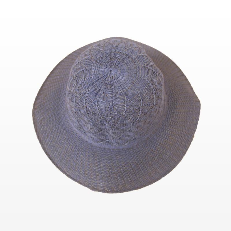 Плажни шапки в тъмно синьо
