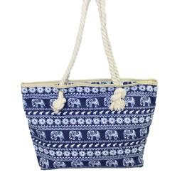 Шарена плажна чанта