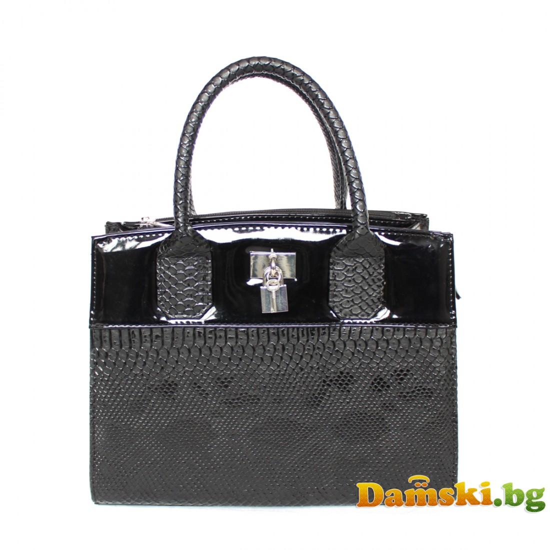 Стилна дамска чанта - Дара