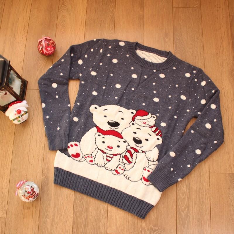 Коледен Пуловер - Код 3763