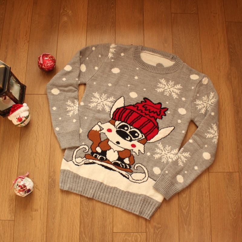 Коледен Пуловер - Код 3765