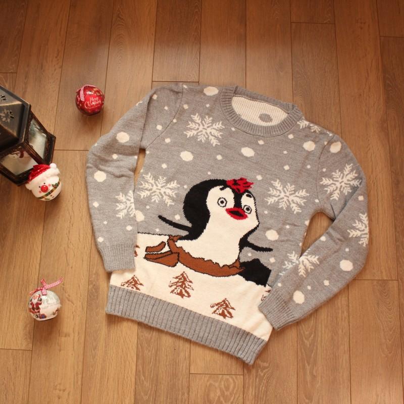 Коледен Пуловер - Код 3772
