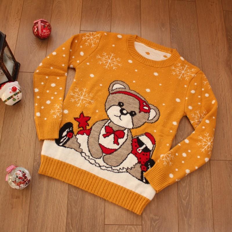 Коледни Пуловери - Код 3756